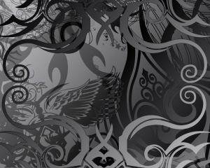 Dark Abstract Wallpaper