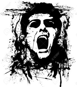 10323779-zombie-horror-Stock-Vector-grunge-zombie-graffiti