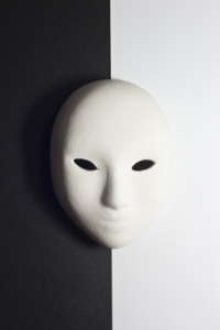 Black-and-white-mask